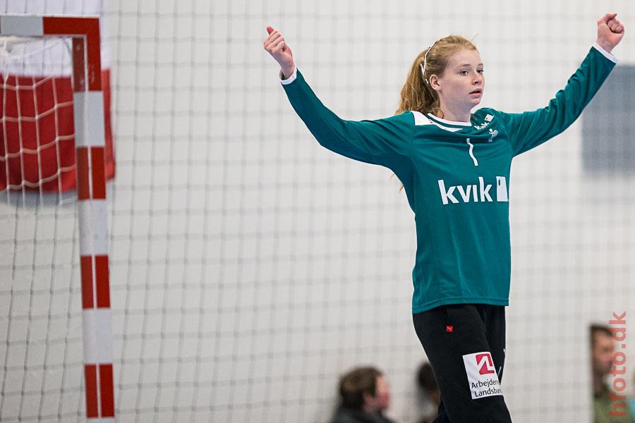 Danmark - Frankrig (U17) - Althea Reinhardt - hfoto.dk