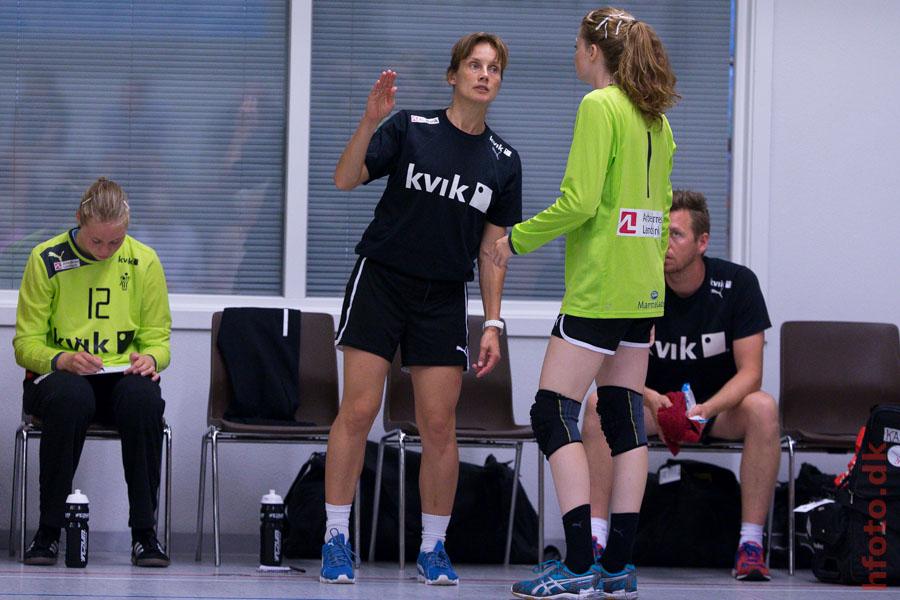 Danmark (U17) - Marie Møller, Althea Reinhardt - hfoto.dk